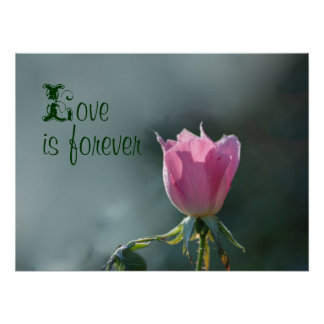 love is forever poster