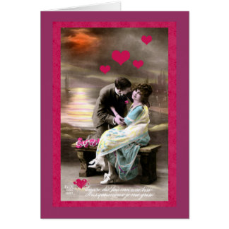 Love is Gold Valentine Card