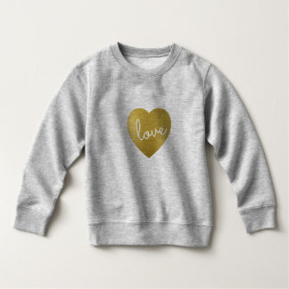 LOVE IS GOLDEN SWEATSHIRT