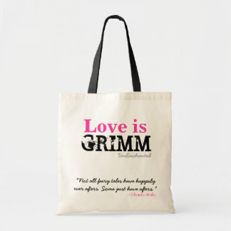 Love is Grimm Tote + Quote