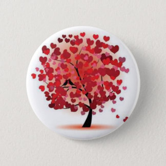 Love is growing 2 inch round button
