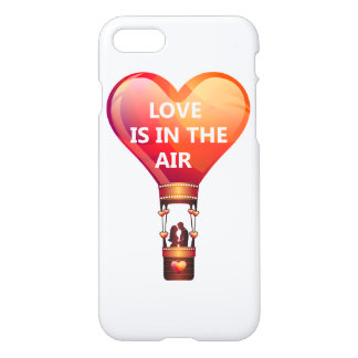 Love Is In The Air Balloon iPhone 7 Case
