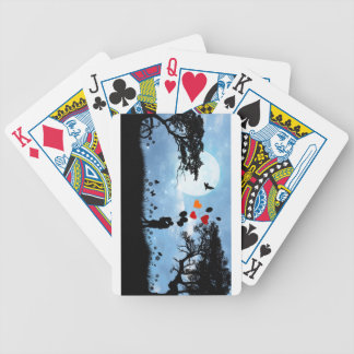 Love Is In The Air Bicycle Playing Cards