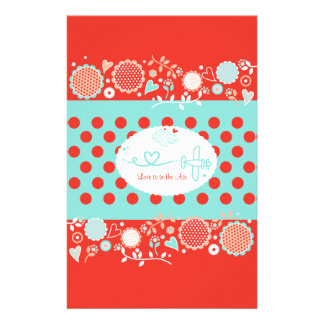 Love is in the Air Candybar Wrapper Stationery