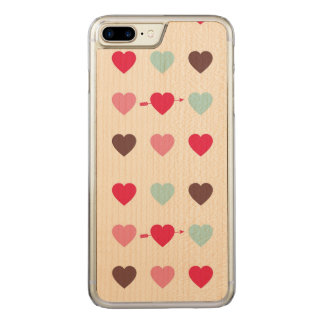 love is in the air carved iPhone 8 plus/7 plus case