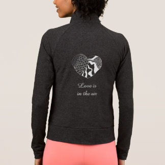 Love is in the Air Doodle Heart | Romantic style Jacket