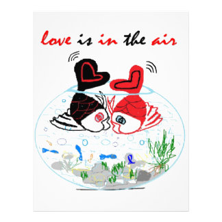 Love is in the air letterhead