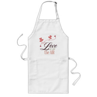 Love Is In The Air Long Apron
