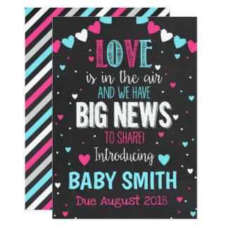 Love is in the Air Pregnancy Announcement