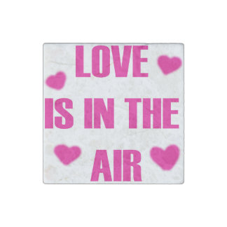 Love is in the Air Stone Magnets
