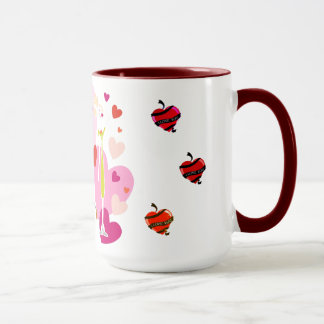 Love is in the Air Valentine Day Couple Coffee Mug