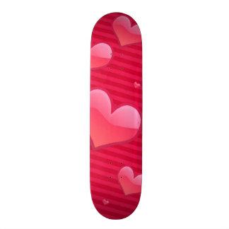 Love is in the Air Valentine Hearts Skate Decks
