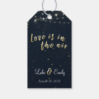 Love is in the Air Wedding Favour Gift Tags