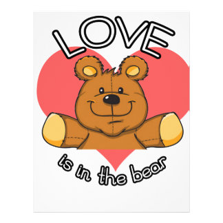 Love is in the Bear Letterhead