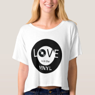 Love is in the Vinyl T-shirt