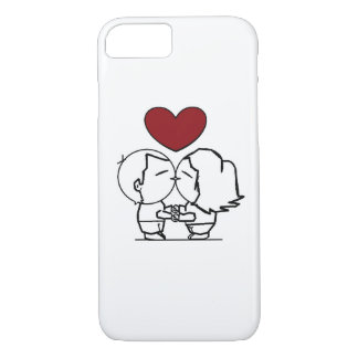 Love IS in to air - the love is in air iPhone 7 Case