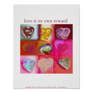 Love is its own reward poster