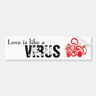 Love is like a bumper sticker