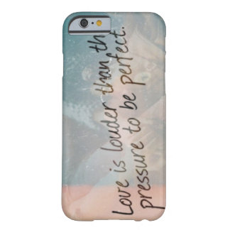 Love is Louder Barely There iPhone 6 Case