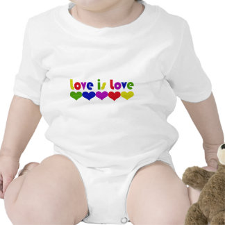 Love is Love Bodysuits