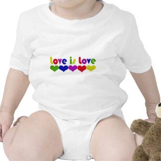 Love is Love Bodysuits