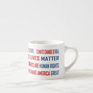 Love is Love Espresso Mug