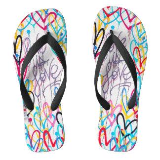 Love Is Love Flip Flops
