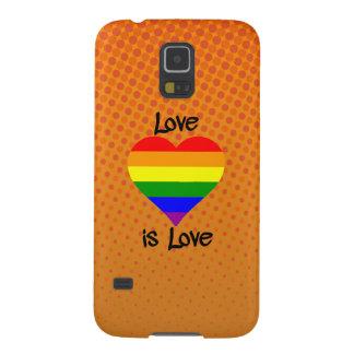 Love Is Love Galaxy S5 Covers