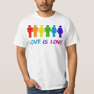Love is love Gay pride T-shirts