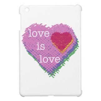 Love is Love Heart iPad Mini Case