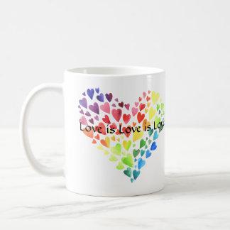 Love is Love is Love Mug