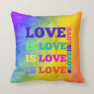 Love is Love is Love Pillow