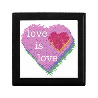 Love is Love Keepsake Box