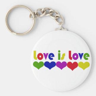 Love is Love Key Chains