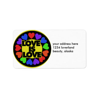 Love is Love Label