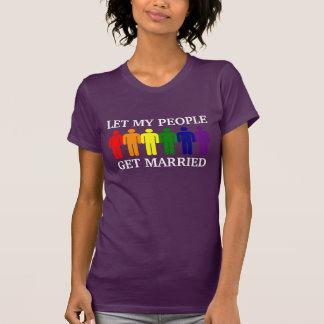 Love is Love Let my people get Married Tee Shirt