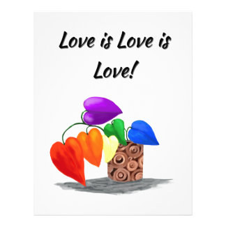 Love is love letterhead