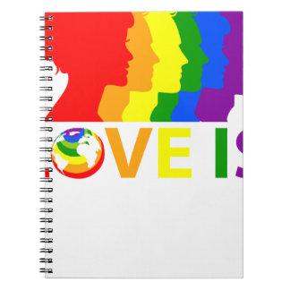Love Is Love Notebooks