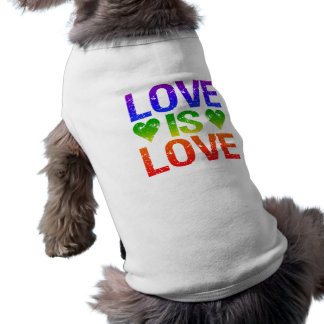 Love Is Love pet clothing
