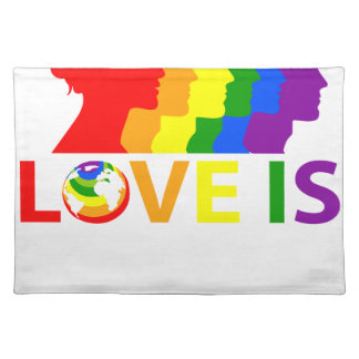 Love Is Love Placemat