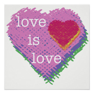 Love is Love Poster