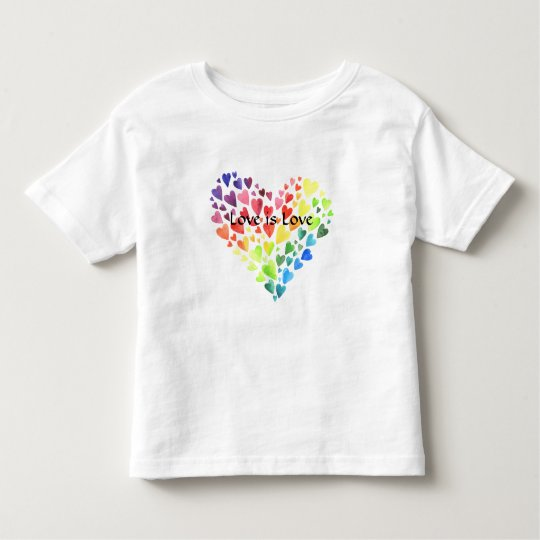 Love is Love Toddler Tee Shirt