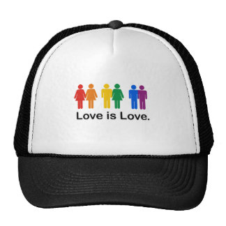Love is Love Trucker Hat