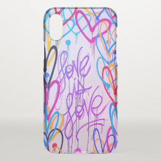 Love Is Love Uncommon iPhone X Case