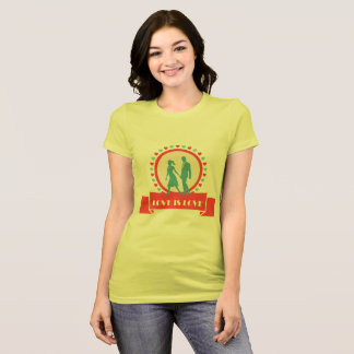 Love Is Love - Yellow T-Shirt
