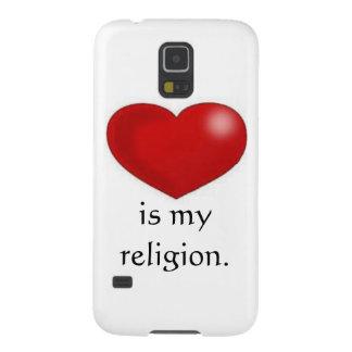 Love is my religion phone case