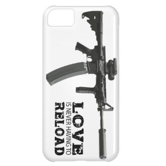 Love is Never Having To Reload AR-15 Case For iPhone 5C