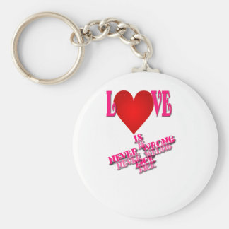 Love Is Never Wrong pick Key Chains