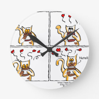 Love is Nutella Clock