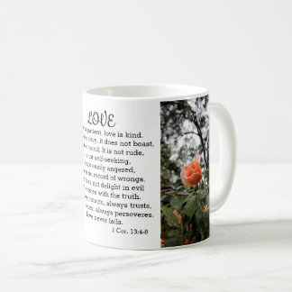 Love is Patient 1 Corinthians 13:4-8 Mug